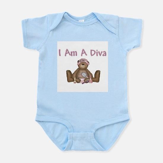 Girl Diva Infant Bodysuit