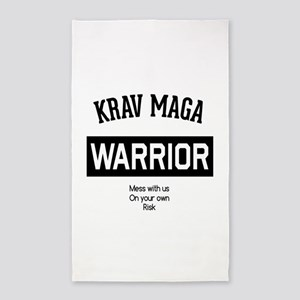 Krav Maga Warrior Area Rug