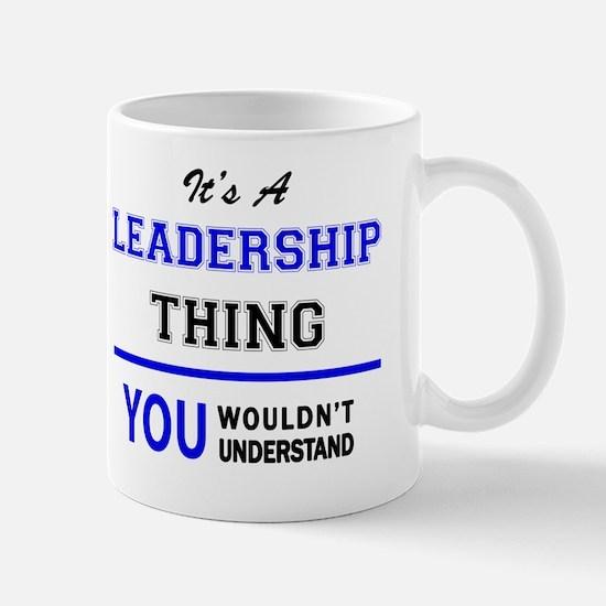 Cute Leadership Mug