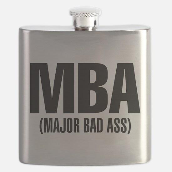 MBA- Major Bad Ass Flask