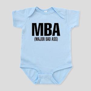 MBA- Major Bad Ass Baby Light Bodysuit