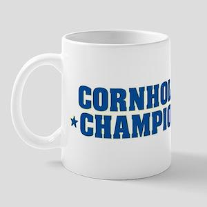 Cornhole * Champion * Mug