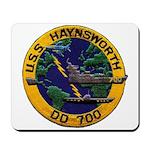 USS HAYNSWORTH Mousepad