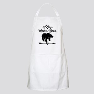 Mema Bear Grandma Gift Light Apron