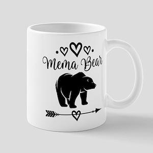 Mema Bear Grandma Gift Mugs