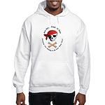Pirate Dog Skull & Crossbiscuits Hooded Sweatshirt
