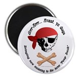 Pirate Dog Skull & Crossbiscuits 2.25