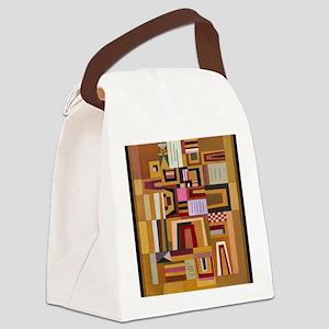 Kandinsky - Compensation Rose Canvas Lunch Bag
