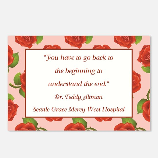 YOU HAVE TO GO BACK Postcards (Package of 8)