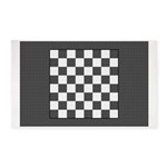 Chess Board Area Rug