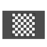 Chess Board Postcards (Package of 8)