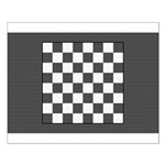 Chess Board Small Poster