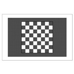 Chess Board Large Poster