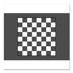 Chess Board Square Car Magnet 3