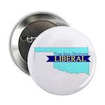 True Blue Oklahoma LIBERAL Button