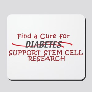 FIND CURE FOR DIABETES, STEM CELL RESEARCH Mousepa