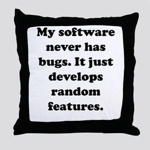 My Software Throw Pillow