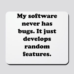 My Software Mousepad