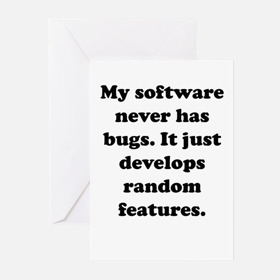 My Software Greeting Cards (Pk of 10)
