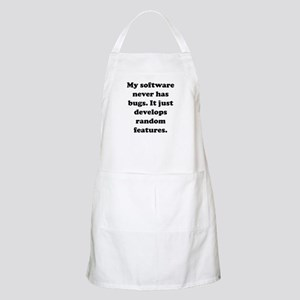 My Software BBQ Apron