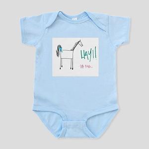 """""""Hay!!"""" Infant Bodysuit"""