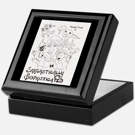 Sarcastically Sophisticated Keepsake Box