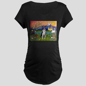 Fantasy Land/Boston T Maternity Dark T-Shirt