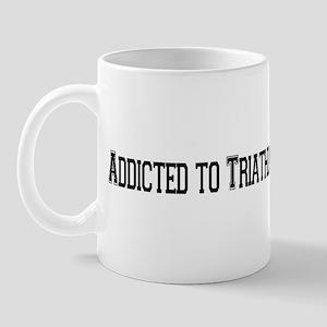 Addicted to Triathlon Mug