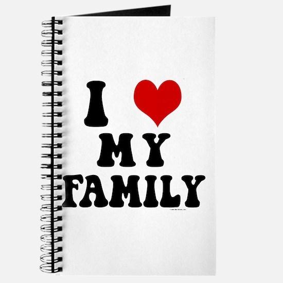 I Love My Family - I Heart My Family Journal