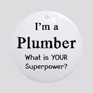 plumber Ornament (Round)