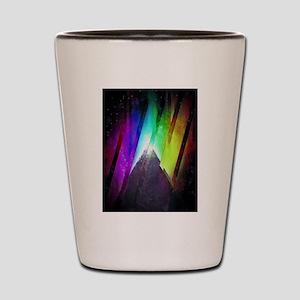 The Cosmic Pyramid Shot Glass