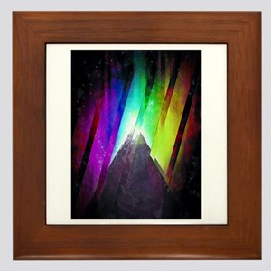 The Cosmic Pyramid Framed Tile