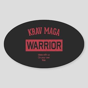 Krav Maga Warrior Sticker