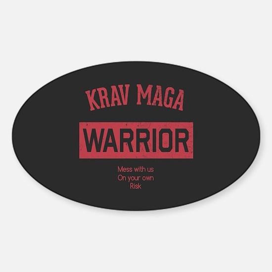 Krav Maga Warrior Decal