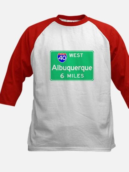 Albuquerque NM, Interstate 40 West Kids Baseball J