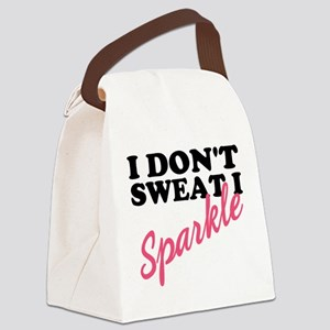 I Sparkle Canvas Lunch Bag