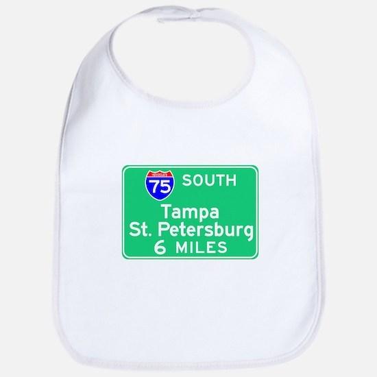 Tampa St. Petersburg FL, Interstate 75 South Bib