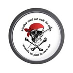 Wenches Plank Choice Wall Clock
