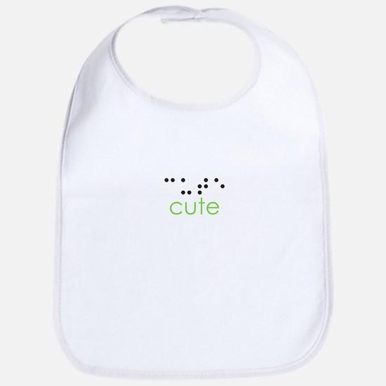 Cute Braille Bib