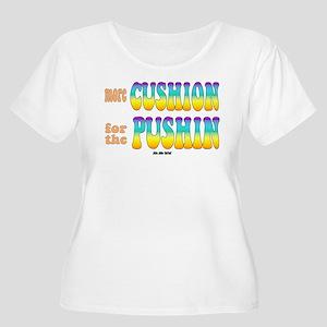 Crude Women's Plus Size Scoop Neck T-Shirt