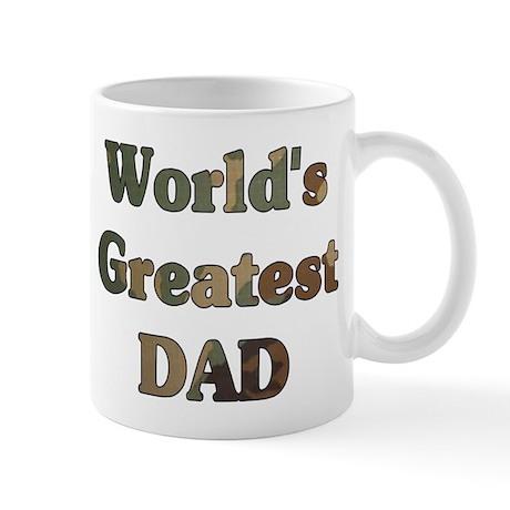 Worlds greatest Dad - Army Camo - Mug