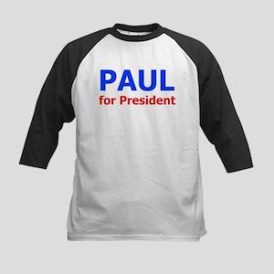 PAUL for President Kids Baseball Jersey