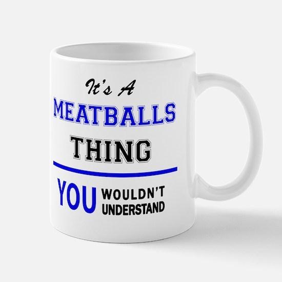 Unique Meatballs Mug