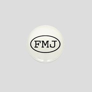 FMJ Oval Mini Button
