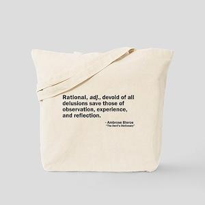 Rational Tote Bag