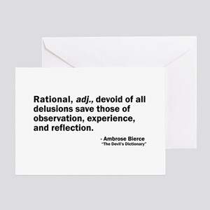 Rational Greeting Card
