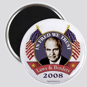 "In Fred We Trust 2.25"" Magnet (10 pack)"
