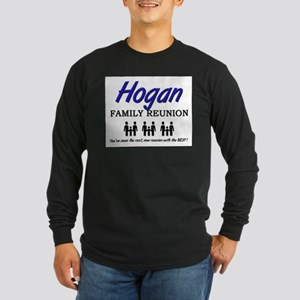 Hogan Family Reunion Long Sleeve Dark T-Shirt