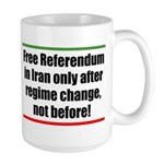 FREE REFERENDUM! Large Mug