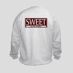 Sweet On The Inside ... Kids Sweatshirt